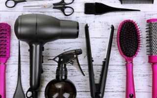 Приборы для укладки волос: виды и правила использования